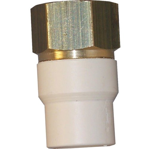 GenovaProducts Low Lead CPVC Transition Adapter
