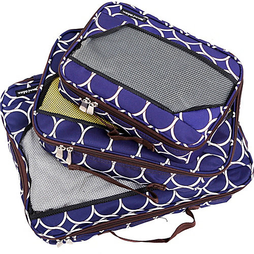 Jenni Chan Aria Park Ave Packing Cubes 3 Piece Set
