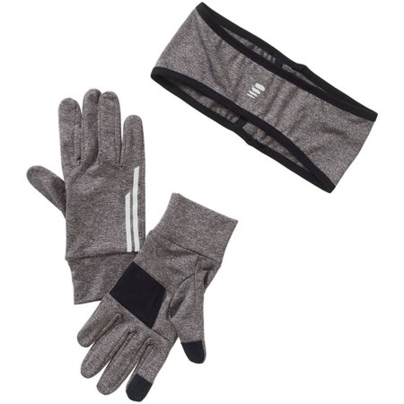 Women's 2 Piece Cold Weather Running Ear Warmer and Glove Set