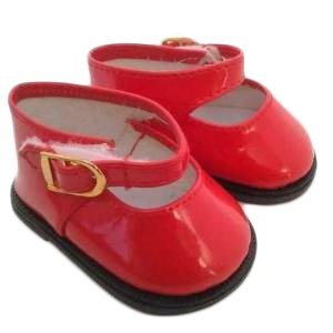 My Brittany's Red Mary Jane Shoes for American Girl Dolls and My Life as Dolls-18 Inch Doll Shoes for American Girl Dolls