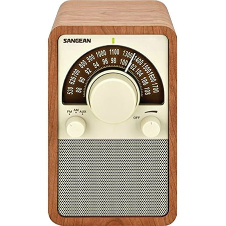 WR-15WL AM/FM Tabletop Radio (Walnut)