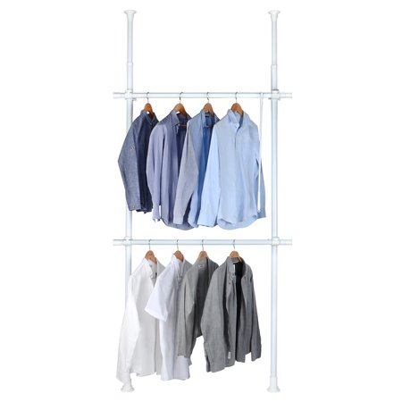 Sortwise Portable Indoor Garment Rack Diy Coat Hanger