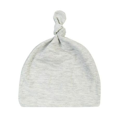 Black Cotton Beanie (Unisex Newborn Baby Toddler Comfy Bowknot Sleeping Caps Warm Beanie Hat)