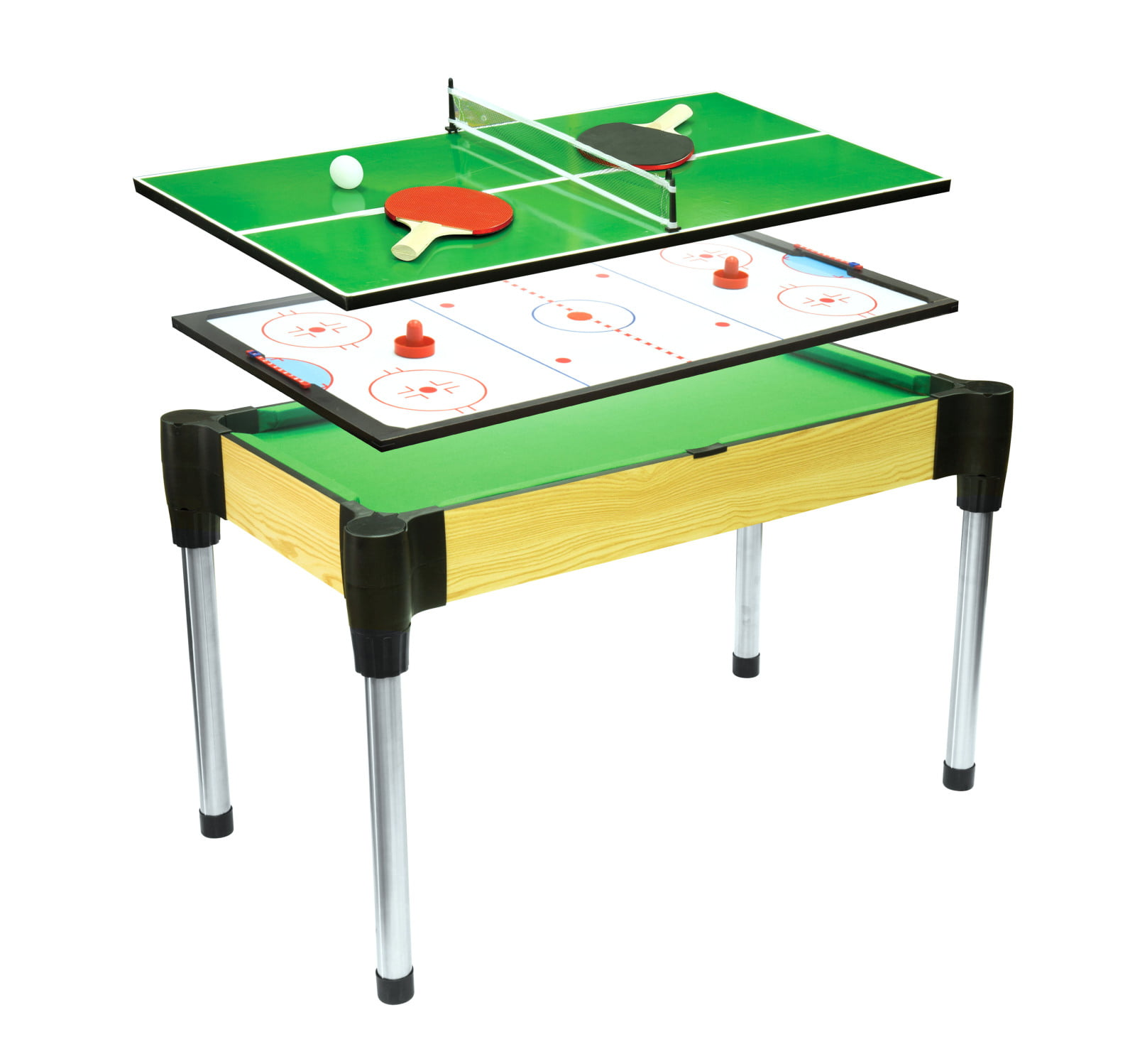 Ambassador 48 3 In 1 Combination Game Table Pool Table Tennis
