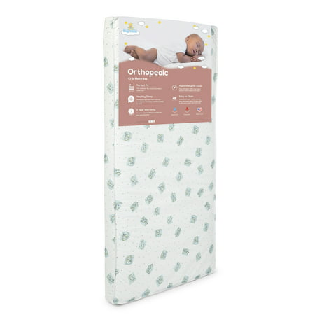 Big Oshi Full Size Baby Crib and Toddler Bed Mattress - 4