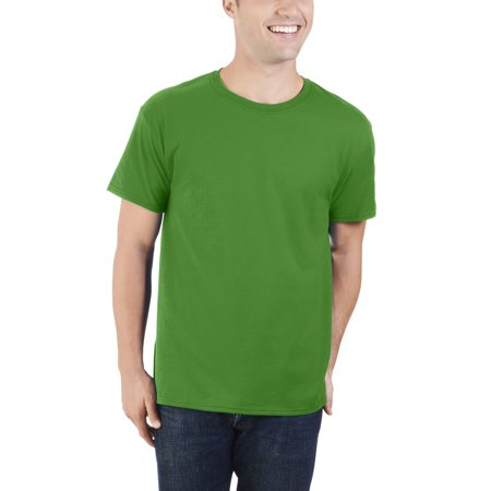 Men's Dual Defense UPF Crew T Shirt, Available up to sizes 4X