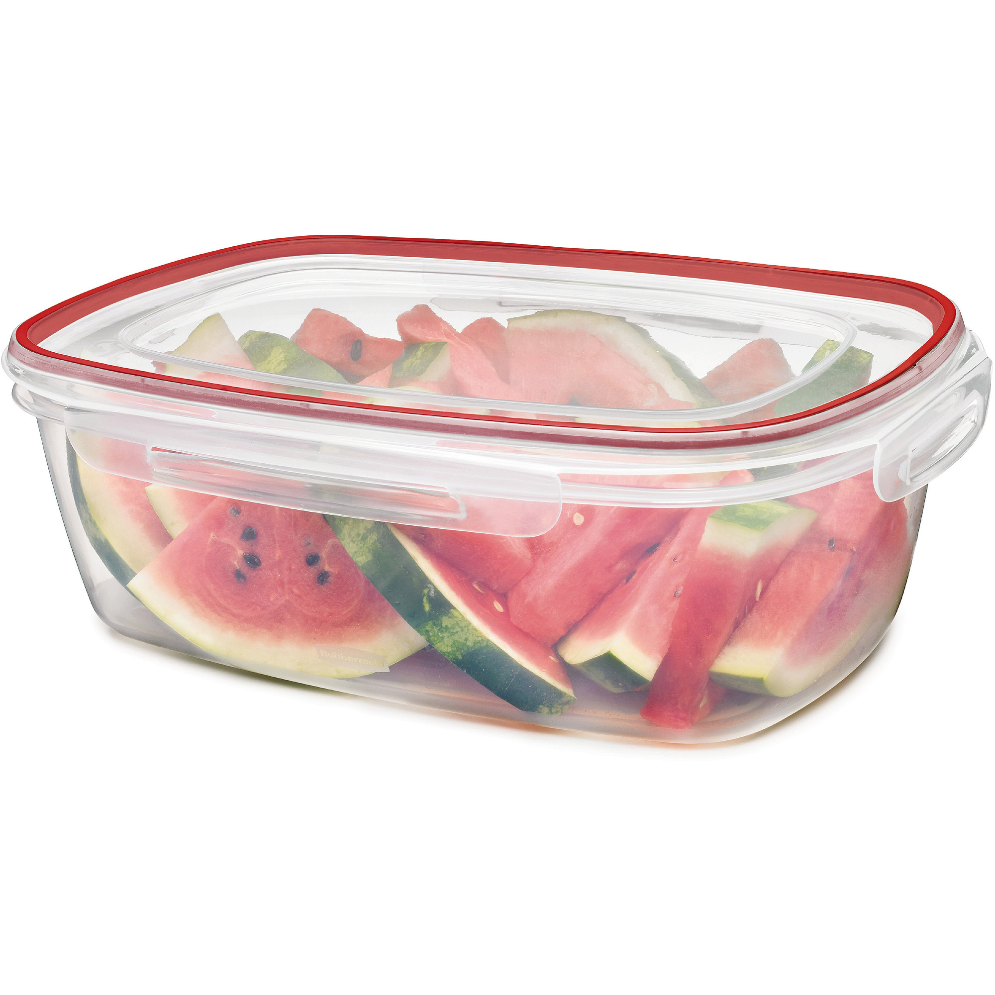 Rubbermaid Lock-Its 2.5-Gallon Rectangle Canister with Lid
