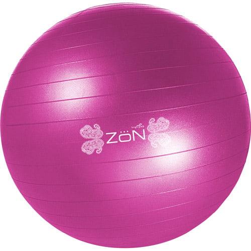 Zon Bright Pink 65cm Balance/Fitness Ball