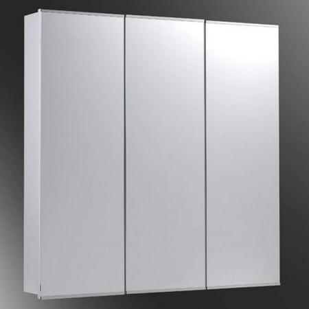 Ketcham 30W x 30H-in. Tri-View Recessed Medicine Cabinet