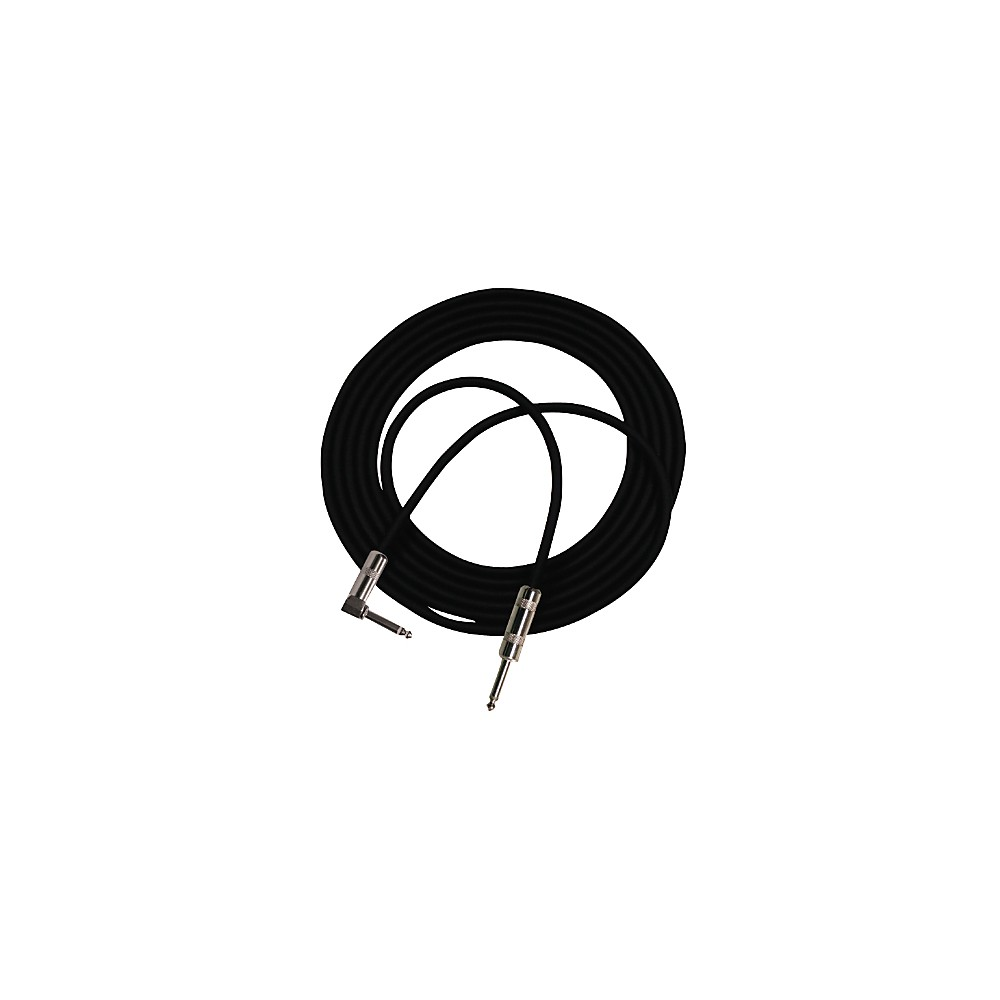 Pro Co StageMASTER Angle-Straight Instrument Cable 10 ft.