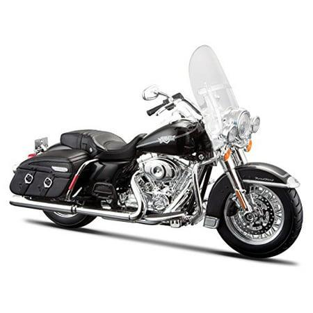Maisto 2013 Harley Davidson Flhrc Road King Classic [ 32322], Schwarz, 1:12 Die Cast