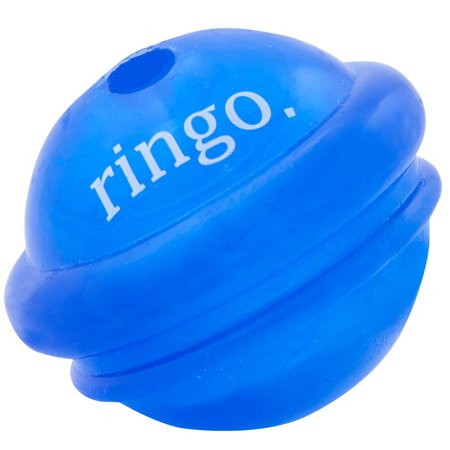 Orbee Tuff Ringo, Saturn Dog Ball Toy, 100% Guaranteed Tough, Made in The USA, Medium, Royal Blue, Made in the USA, 100% Guaranteed By Planet Dog