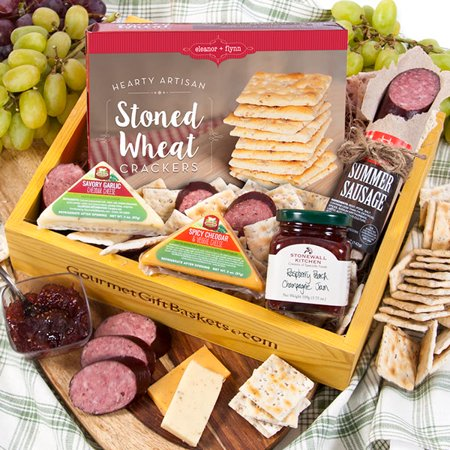 Gourmet Meat & Cheese Sampler