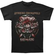 Avenged Sevenfold Men's  Battle Armor 2014 Tour T-shirt Black
