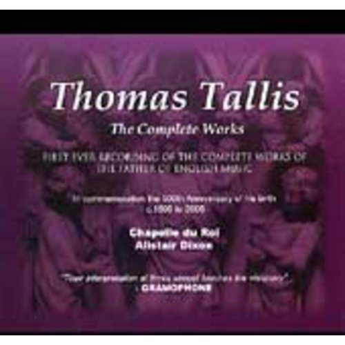 T. Tallis - Thomas Tallis: The Complete Works [CD]