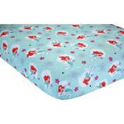 Disney Ariel Sea Treasures Crib Sheet
