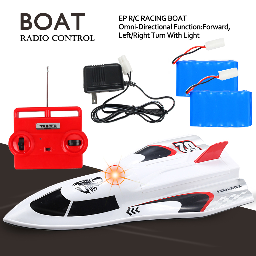 Large Powerful Super High Speed Remote Control Fast RC Racing Boat 14+ Age Extra Battery Included by Litzpy