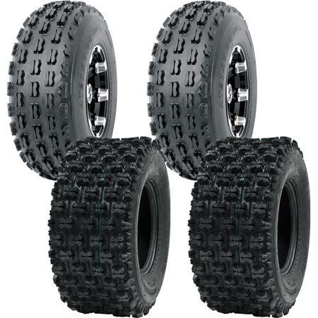 19X7-8 P327 & 20X10-9 P357 4PLY POLARIS RZR 170 09-16 OCELOT ATV TIRES - 4 PACK