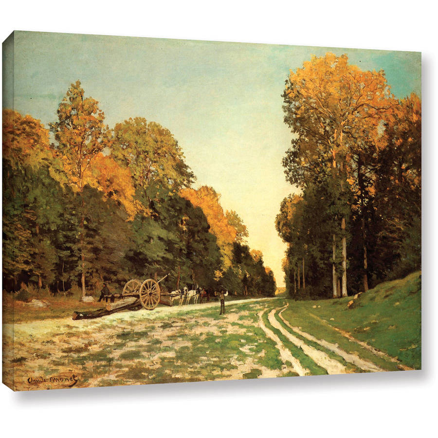 "Claude Monet ""Lumber Wagon"" Gallery-Wrapped Canvas"