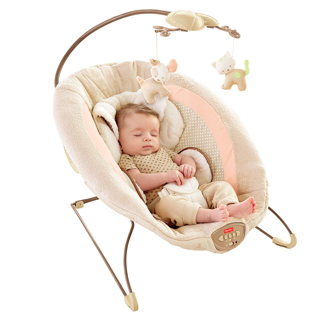 Fisher Price My Little Snugapuppy Deluxe Bouncer by Fisher-Price