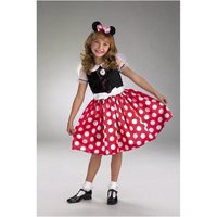 Minnie Mouse Girls Child Halloween Costume, One Size, 3T-4T