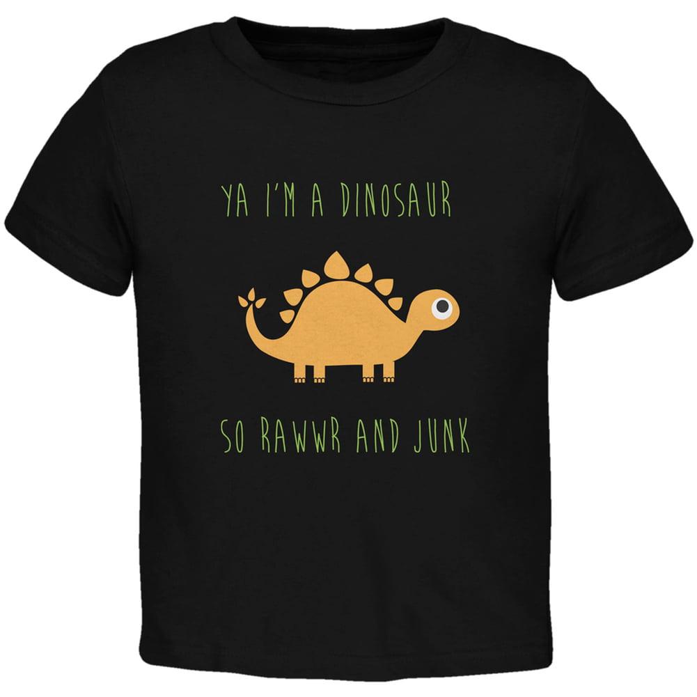 I A Stegosaurus Shirt Ya I'm a Dinosaur - St...
