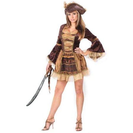 Adult Sexy Victorian Pirate Costume (Victorian Costumes For Women)