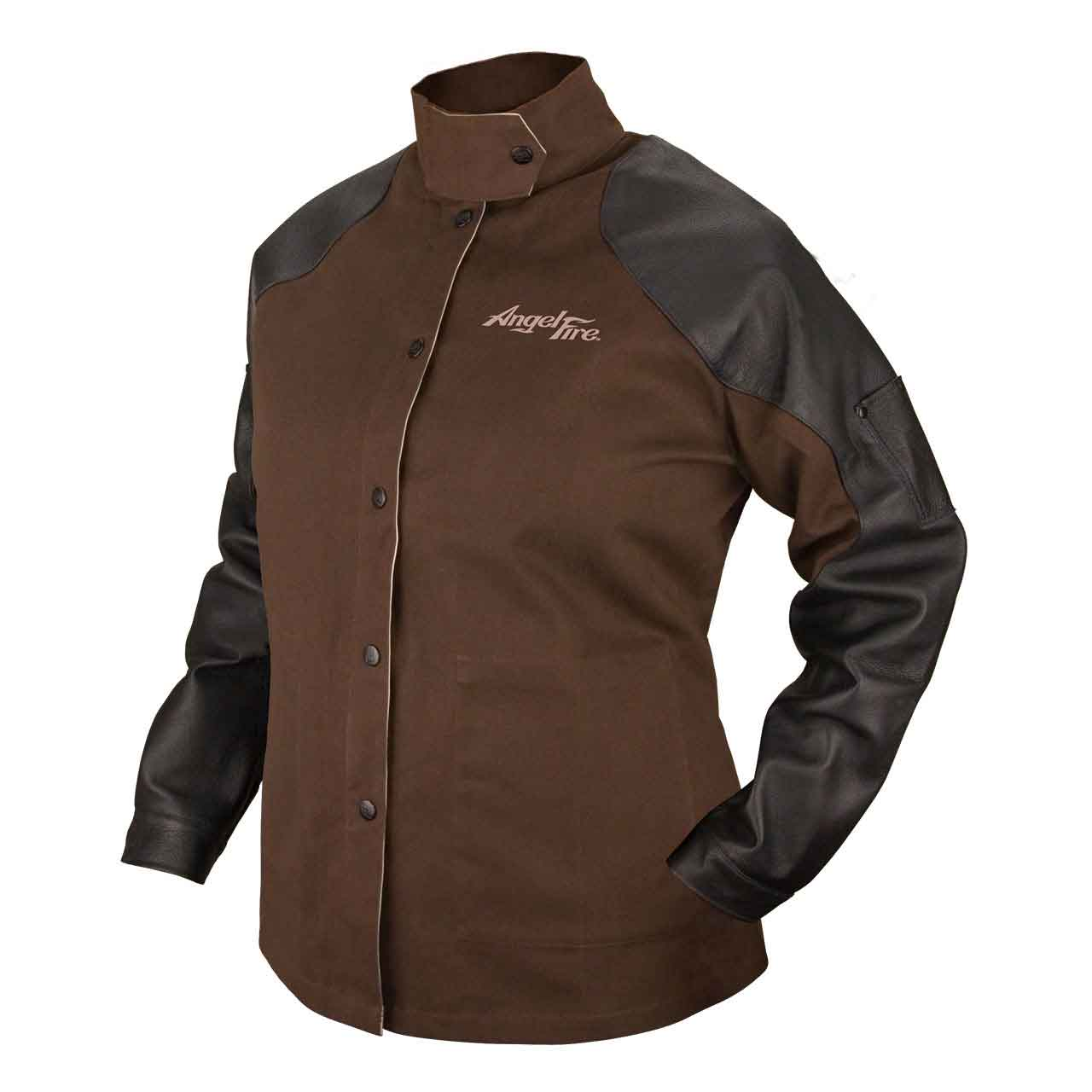 Black Stallion AngelFire BW9C/PS Women's Hybrid FR Welding Jacket, SM