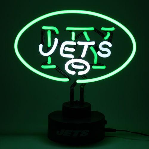 New York Jets The Memory Company Neon Lamp Jets Walmart Com Walmart Com