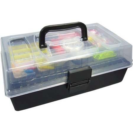 outdoor angler 101 piece fishing tackle kit