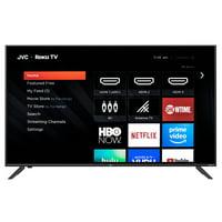 "Refurbished JVC 50"" Class 4K UHD 2160p HDR Roku Smart LED TV LT-50MAW595"