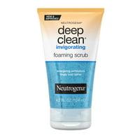 Neutrogena Deep Clean Glycerin Face Scrub, 4.2 fl oz