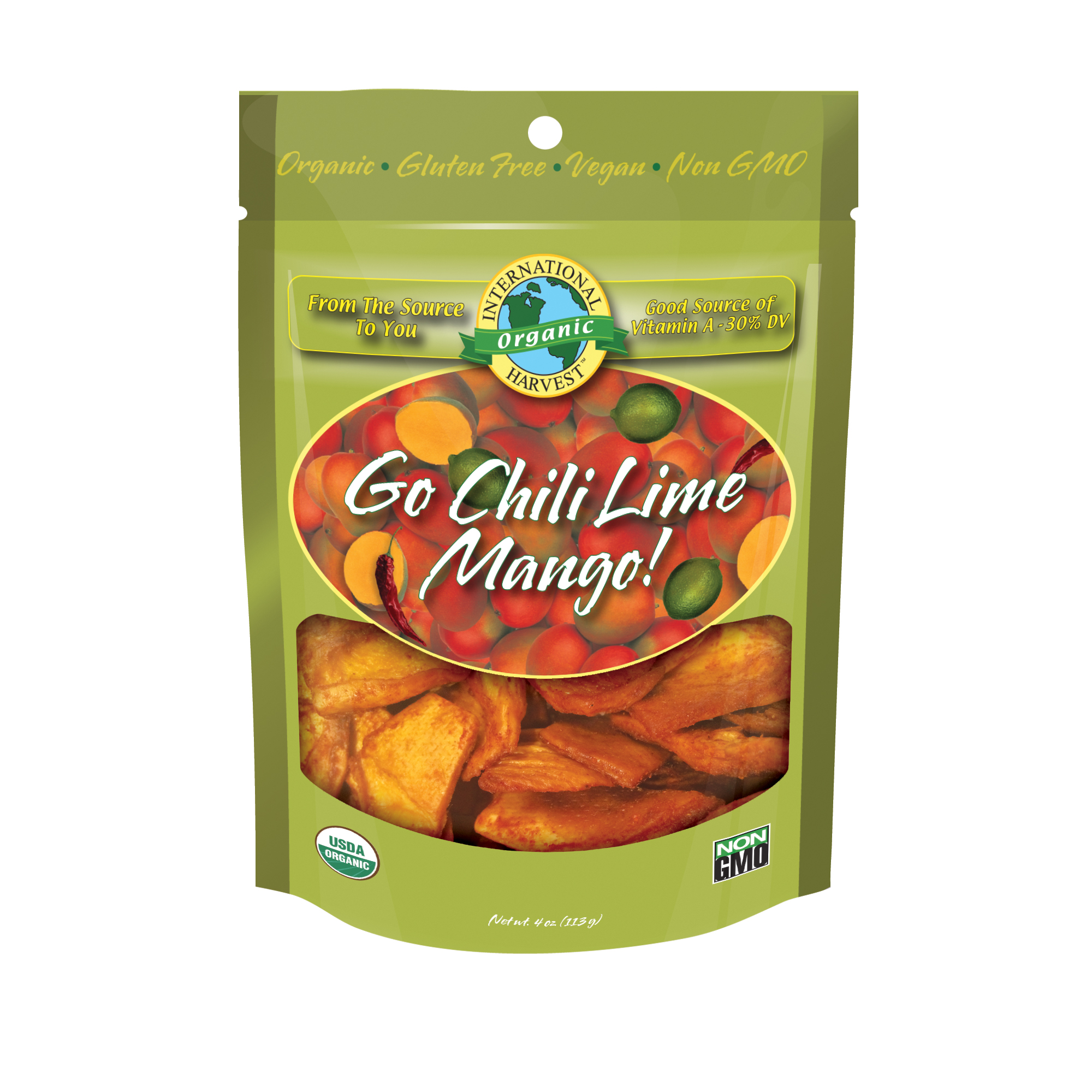 International Harvest Go Chili Lime Mango, 4 Oz