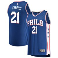 4abc248082d Product Image Joel Embiid Philadelphia 76ers Fanatics Branded Fast Break  Replica Team Color Player Jersey Royal - Icon