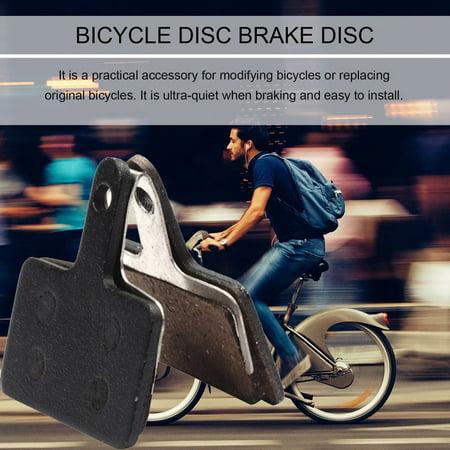 HC-TOP BIKEIN P01BP 2PCS Durable Metal Resin Bicycle Disc Brake Pads For Shimano M375 - image 2 of 9