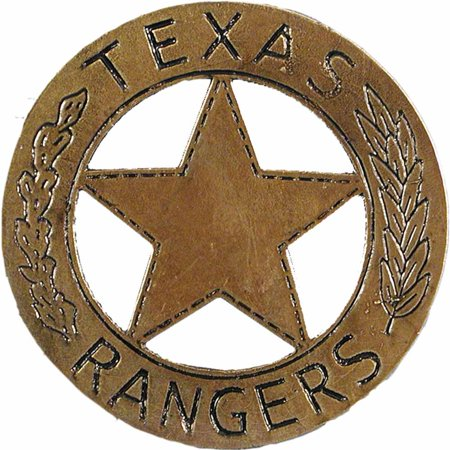Western Texas Ranger Badge