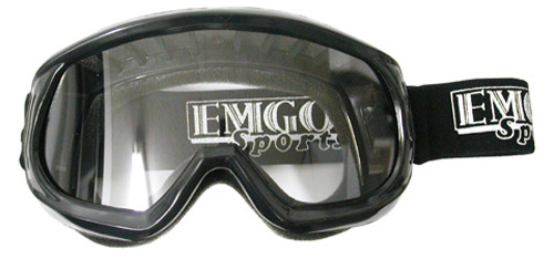 Emgo 76-49582 Goggles Kids   Black by Emgo