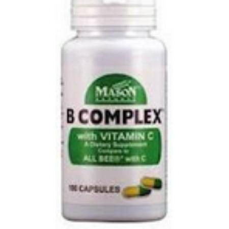 MASON NATURAL B Complexe de vitamine C 100 ch