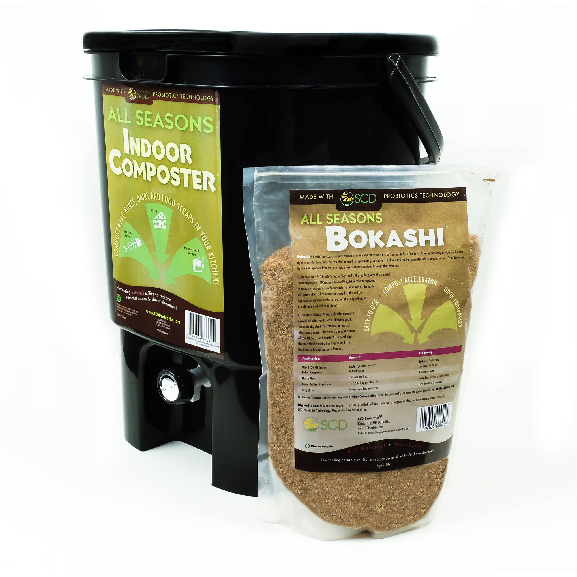 All Seasons Indoor Composter Kit