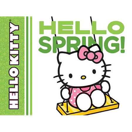 Hello Kitty Hello Spring (Board Book) - Halloween Hello Kitty Color Pages