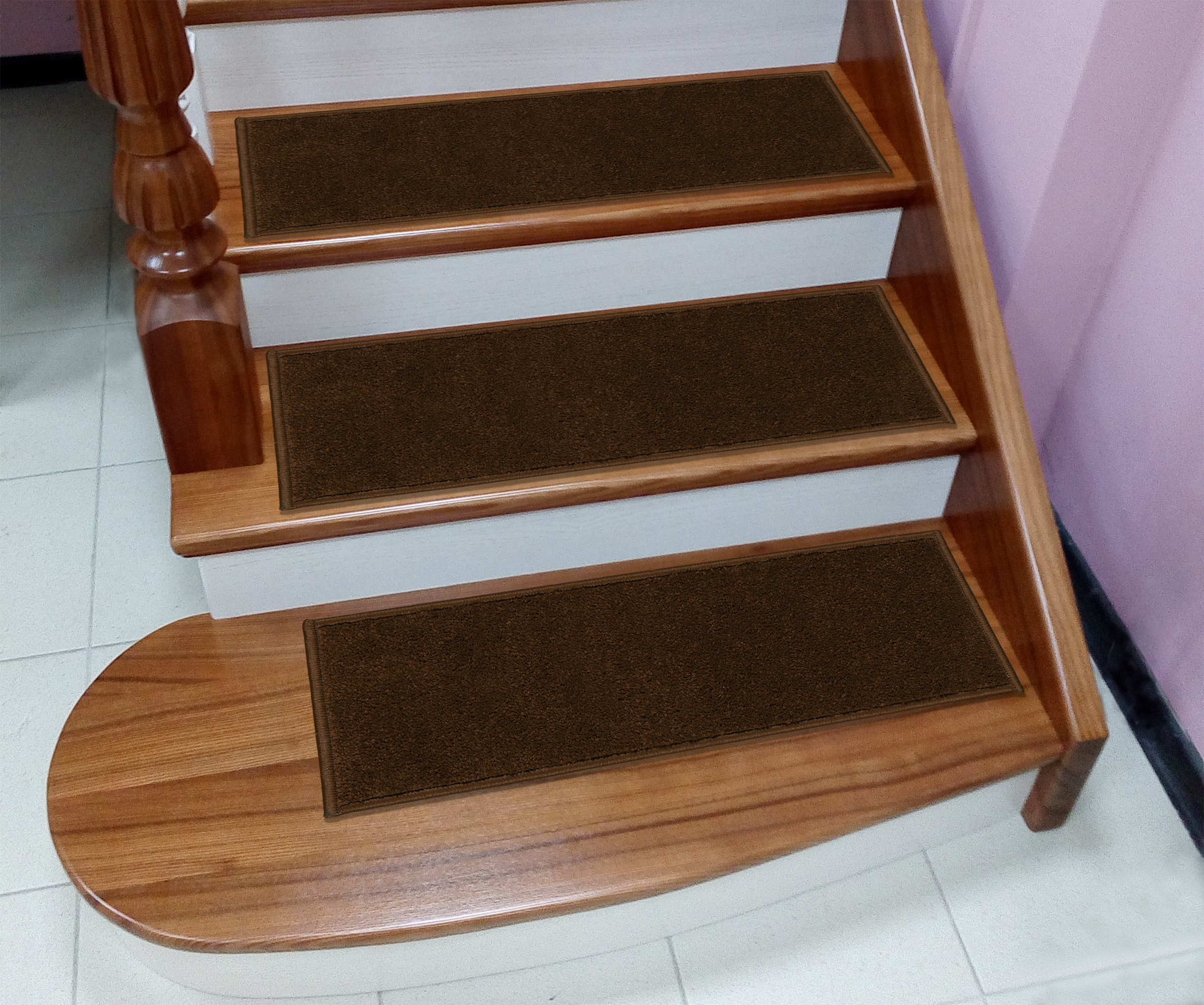 """Walmart Home Store: Sweet Home Stores Soft Non-Slip Carpet Stair Treads, 9"""" X"""