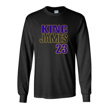 5bee938efe9 Shedd Shirts - LONG SLEEVE BLACK Los Angeles Lebron James