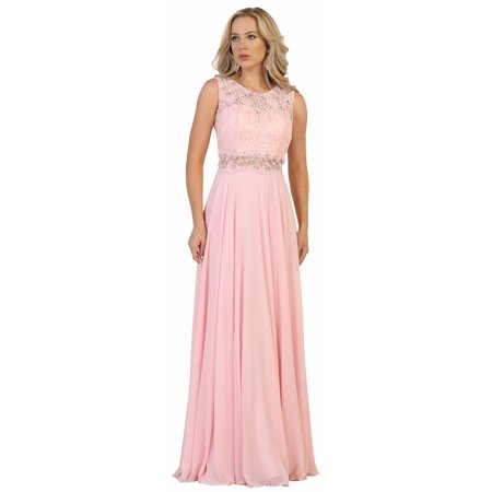 SLEEVELESS MAID OF HONOR DRESS & PLUS SIZE (Maid Dress)
