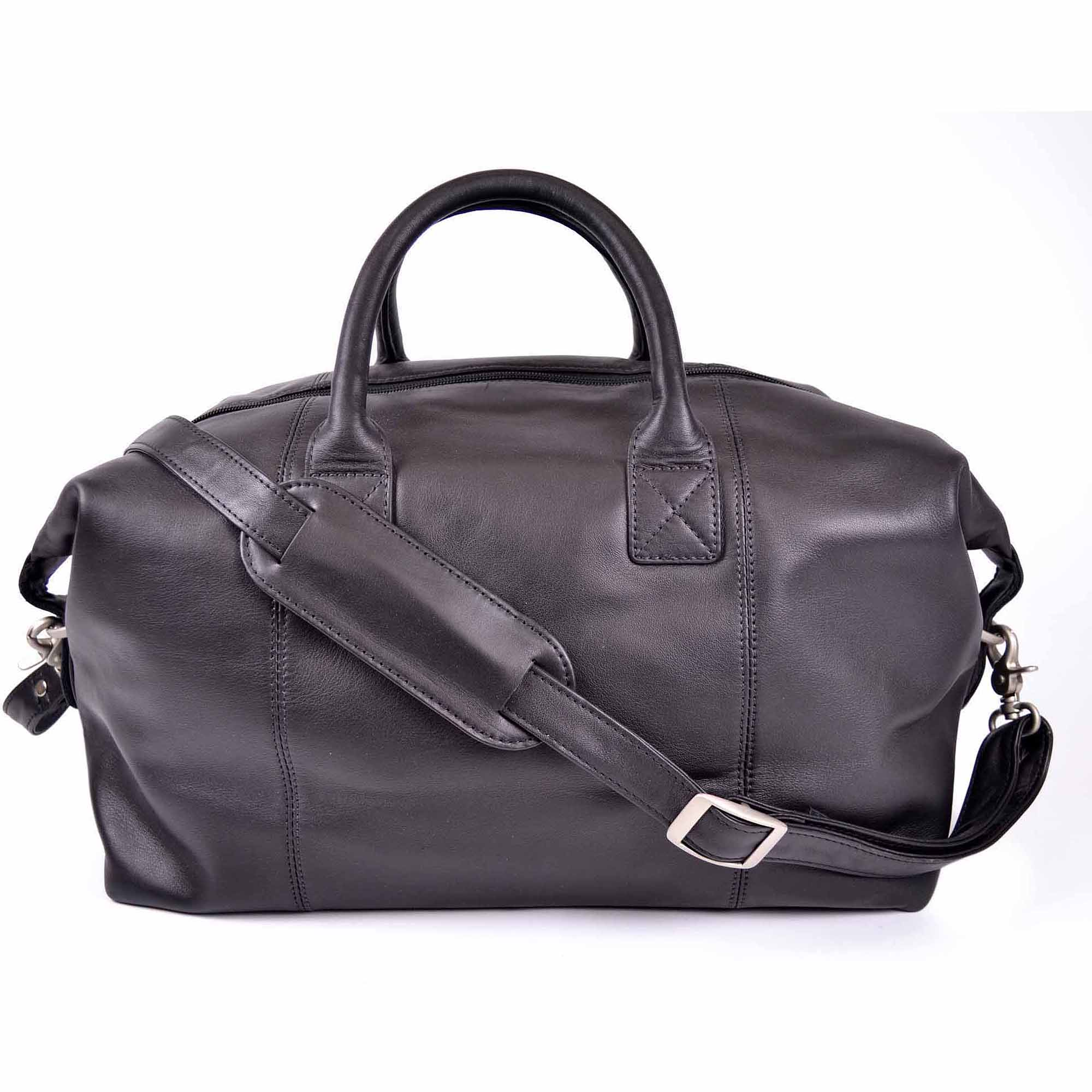 Royce Leather Travel Duffel Overnight Bag in Genuine Leather by Royce Leather