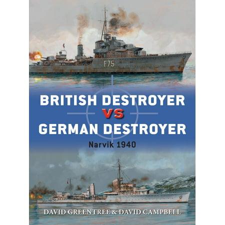 British Destroyer vs German Destroyer : Narvik 1940 (German Destroyer)