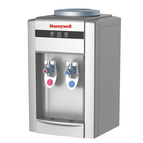 Honeywell HWB2052B2 21-Inch Tabletop Water Cooler Dispenser, Hot and Cold Temperatures, Black