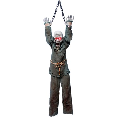 Hanging Zombie Halloween Decoration (Zombie Decorations For Halloween)