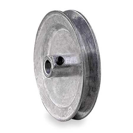 "CONGRESS 7 8"" Fixed Bore 1 Groove V-Belt Pulley 5"" OD, CA0500X087KW by CONGRESS"