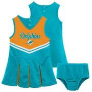 NFL Miami Dolphins Toddler Cheerleader Set