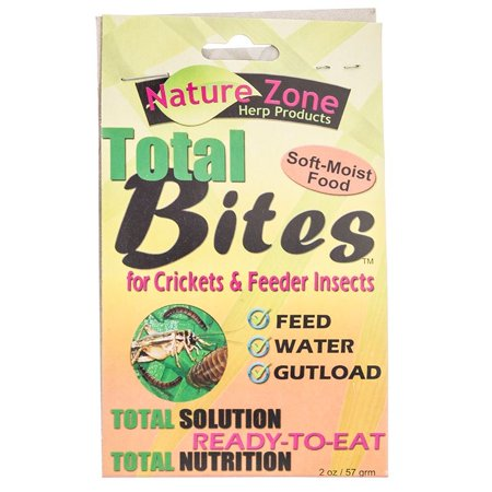 - Nature Zone Total Bites for Crickets and Feeder Insects 2 Ounce